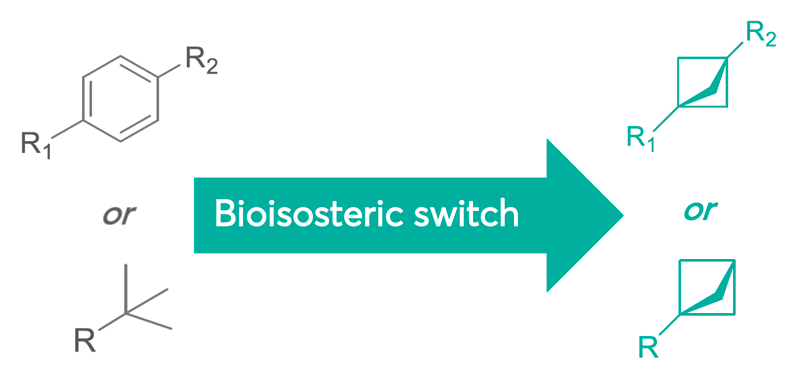 Bioisosteric switch