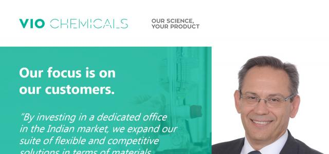 Dr. Kalias about VIO Chemicals India office